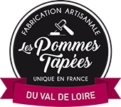 Logo footer Les Pommes Tapées